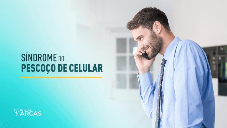 pescoço de celular